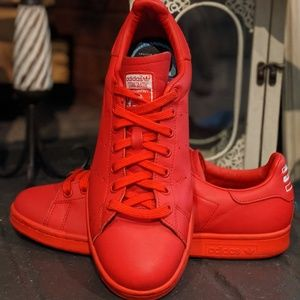 Adidas Stan Smith red sneakers